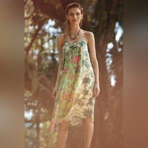 Anthro maeve Santee Swing dress